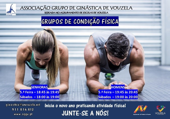 Read more about the article Grupos de condição física