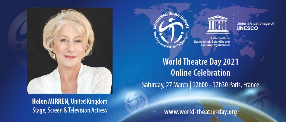 Dia Mundial do Teatro celebra-se a 27 de Março